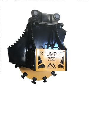 EZ Machinery Stump Grinder. Stump-750