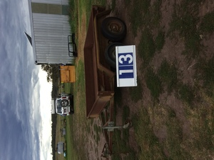 Under Auction - (A129) - 8 Ft x 6 Ft Tandem Trailer and Heavy Duty Crate - 2% + GST Buyers Premium On All Lots