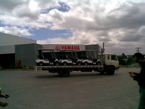 UD CPB 12 8 Ton Tray Truck