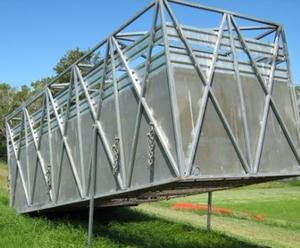 Galvanised Cattle Crate