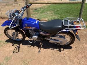 Yamaha AG125 Motorbike
