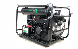 Under Auction - New 35 CFM Compact, Light Weight, Mobile Screw Air Compressor With Integrated 3.5kVA Generator- Diesel - 2% + GST Buyers Premium On All Lots