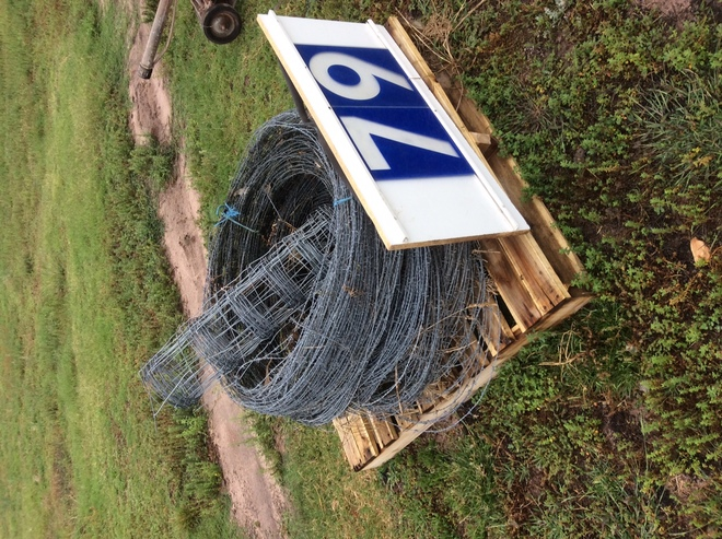 Under Auction - Under Auction (A129) - Secondhand Barb Wire - 2% + GST Buyers Premium On All Lots