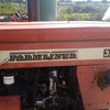 farmliner 350c 1983 tractor 2WD 38HP including 6 foot blade $7950