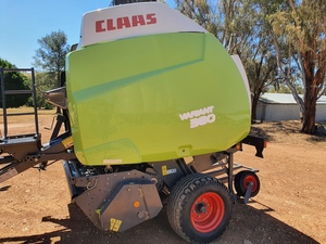 2008 Claas Variant 380 Rotor Cut Round Baler
