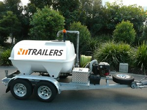 NEW WATER / FIRE / CHEMICAL TRAILERS - Mine Spec. Delivery Australia Wide