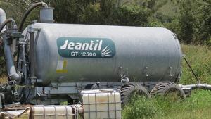 Jeantil GT12500 spreader tanker