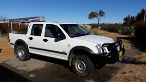 FOR SALE - HOLDEN RODEO DUAL CAB 2006 MDL, **REDUCED**