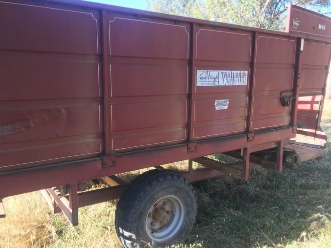 Giltrap Silage trailer