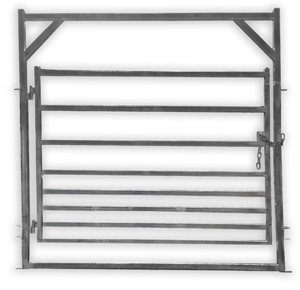 Under Auction - (A131) - New Combination Gate in Frame - 2% + GST Buyers Premium On All Lots