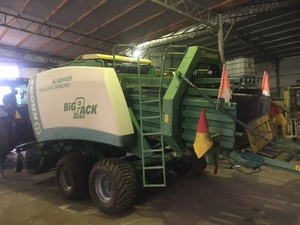 2007 Krone Big Pack 1290 XC Baler with Cutter