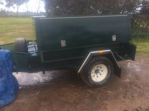 7x4 Cobb Court heavy duty off road trailer