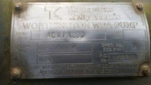 Thompson Kelly & Lewis Pump
