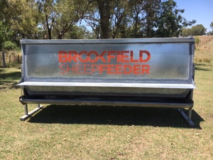 2 x Brookfield Sheep Feeders