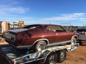 Ford XB Coupe or XA XB GT Sedan or parts