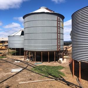 Ackland 40t silo