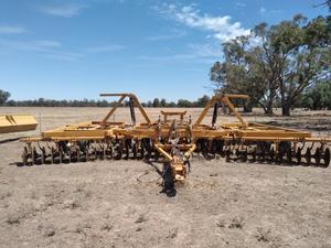 78 Plate Taylorway Disc Plough