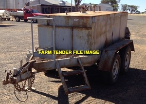 WANTED 4,000lt Fuel Trailer