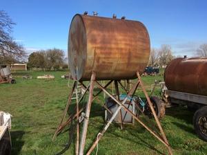 Under Auction - Dual Overhead Fuel Tank - 2% + GST Buyers Premium on all Lots - 2% + GST Buyers Premium On All Lots
