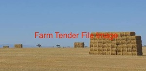 160 Bales of Feast Ryegrass & Shaftall Clover Hay