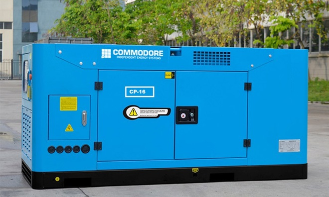 Under Auction - Brand New Silent Diesel Generator 22.5KVA/18KW - 3 Phase With 2 Wire Auto Start, Water Cooled - 2% + GST Buyers Premium on all lots - 2% + GST Buyers Premium On All Lots