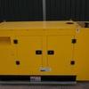 New 60 kVA. Generator, Silent cabinet.
