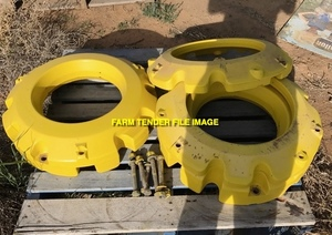 WANTED Wheel Weights for John Deere 6200