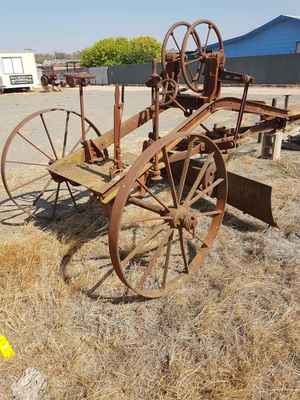 Antique Road Grader