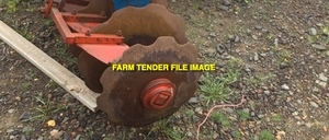 WANTED 3-6 Old Rusty & Pitted Plough Discs   RUSTIER THE BETTER