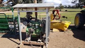 John Deere 4045 80HP Irrigation Motor