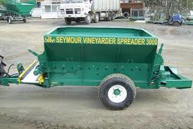 WANTED Side Delivery Compost / Mulch Spreader for Orchard