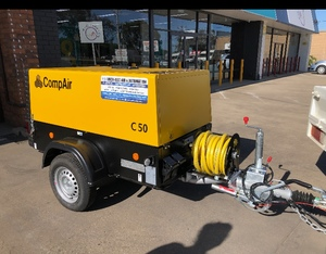 New Compair 180 CFM portable Diesel powered compressor