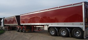25mt Lusty B-Double Set of Trailers For Sale