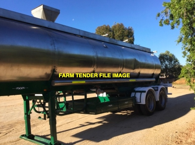 WANTED 22000L Potable Water Tanker