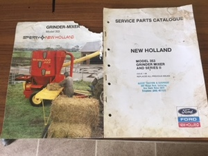 New Holland Grinder Mixer, Series 2