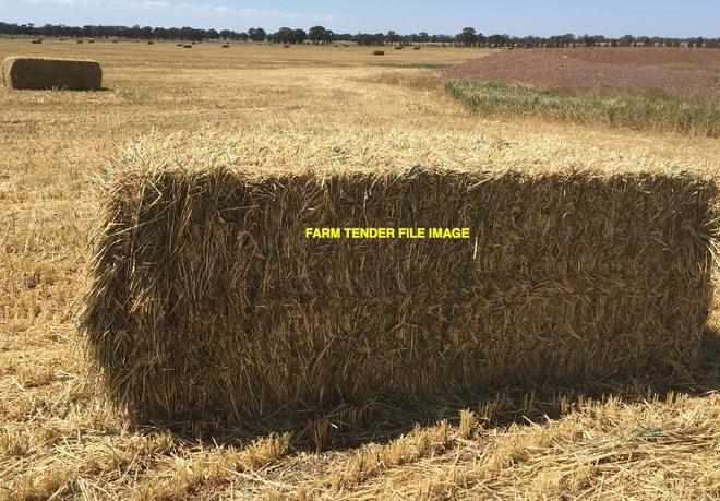 80mt Wheaten Hay 650-700kg 8x4x3 Bales