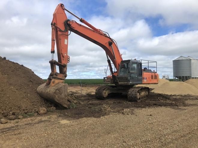 Hitachi ZX350h Excavator