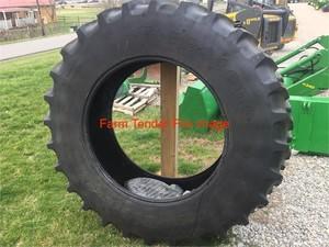 18.4 x 38 Radial tyres x 2