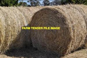 Rye Grass Hay 5x4 Round Bales