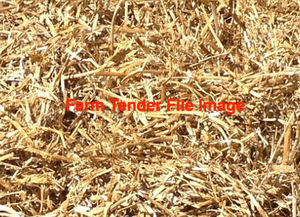 Pea Straw 42 bales in 8x4x3,