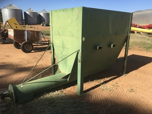 Under Auction - Under Auction (A132) - Hopper with Auger - 2% + GST Buyers Premium On All Lots