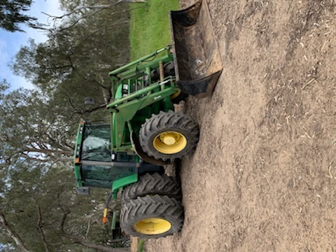 WANTED John Deere Tractor with FEL