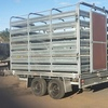 Tandem Trailer with Gal Stock Crate