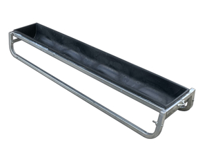 Under Auction - (A131) - 2 x Long Sheep Troughs - 2% + GST Buyers Premium On All Lots