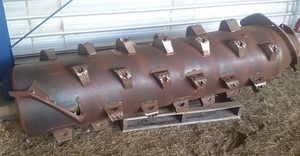Small Tube Rotor Case 20 or 30 Series Header