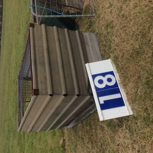 Under Auction - (A129) - Calf Crate 5 Ft 6 inches x 4 Ft - 2% + GST Buyers Premium On All Lots