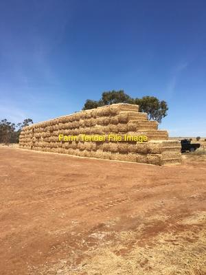 Wheaten Hay 8x4x3