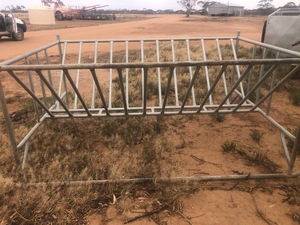 6 x Large Square Bale Feeders