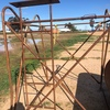 Overhead Fuel Tank and Stand for sale
