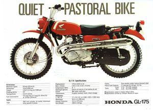 WANTED GL175 Honda Motorbike